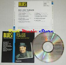 CD BIG JOE TURNER Shake rattle BLUES COLLECTION 1993 DeAGOSTINI mc lp dvd vhs
