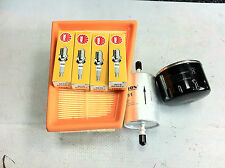 CLIO MK2 1.4 16V SERVICE KIT OIL/AIR/FUEL/X4 SPARK PLUGS NGK BRAND NEW