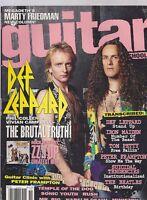 NOV 1992 GUITAR SCHOOL vintage music magazine DEF LEPPARD