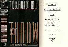 Scott Turow - The Burden of Proof - Signed - 1st/1st