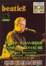 Beatleg Oct/99 Mag Japan Brian Wilson Beach Boys Special Jeff Beck Eric Clapton