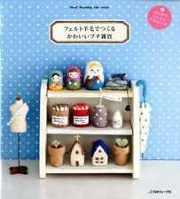 NEEDLE FELT PETIT GOODS  - Japanese Felt Craft Book