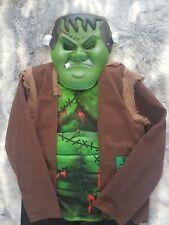 Boys Frankenstein Halloween F&F Fancy dress costume Age 9-10 years