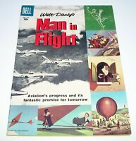Man In Flight (Four Color) #836 1957 Dell Comics $.10-c. 36pgs. Silver Age