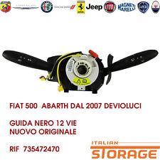 FIAT 500  ABARTH DAL 2007 DEVIOLUCI GUIDA NERO 12 VIE NUOVO ORIGINALE 735472470
