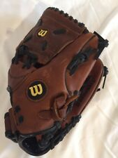 """WILSON Baseball Glove #A0700 ST11 - 11"""" Brown Canyon Leather"""