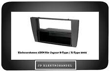 Einbaurahmen 1DIN  für Jaguar S-Type  /   X-Type 2002->   Radioblende 1DIN