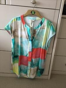 Ladies Sleeveless Blouse By Sandwich. Size 12