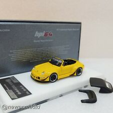 Porsche RWB 993 Yellow Hpi64 MODEL 1/64