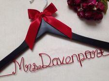 Personalized Wedding Hanger,bride bridesmaid hangers,name hanger,bridal hanger