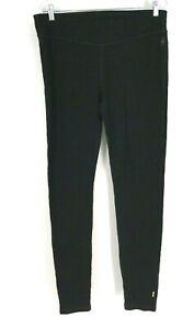 SMART WOOL - WOMEN'S XL - BLACK 100% MERINO WOOL 250 BASELAYER BOTTOMS - NWT
