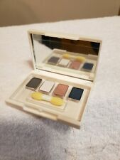Elizabeth Arden Eye Shadow Quad Graphite, Sugar Cube, Desert Rose, Misty Teal