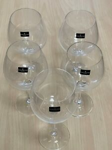 Vintage Mixed 5pc White Red Wine Beer Lager Rum Liquor Gin and Tonic Glasses Set