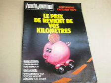 L AUTO JOURNAL - N° 1  - ANNEE  1979  *