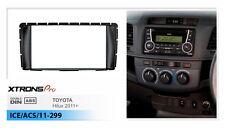 XTRONSPRO Radio Fascia for TOYOTA Hilux Stereo Install Facia Face Dash Trim Kit