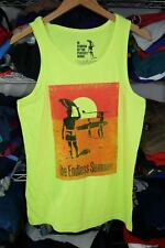 New listing The Endless Summer Tank Top shirt Neon Yellow Surfing 2013 Tag L Fits M ? S/M