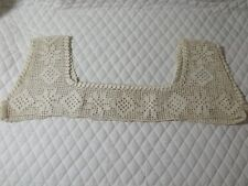 Antique Vintage Beautifully Hand Crocheted Bodice For A Gown