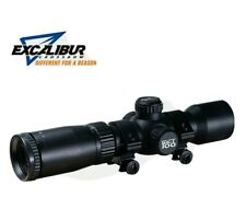 New listing Excalibur Tact-100 Red/Green Illuminated 100 Yard Crossbow Scope - #73370 *NEW*