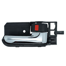 Inside Door Handle - Right Passenger Front or Rear - Black w/ Chrome Lever