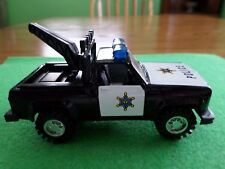Diecast Pull Back Action Police Tow Truck Item # 8314