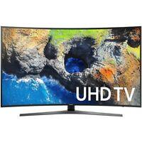 Samsung 54.6 Curved 4K Ultra HD Smart LED TV (2017 Model) UN55MU7500FXZA