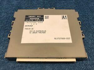 Toyota Smart Key Control Module Denso TN232500 5262 2842A TMLF820 89990 08010