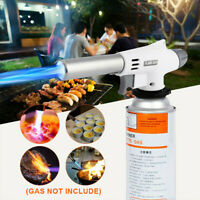 Camping Gas Torch Welding Fire Maker Lighter Butane Burner Flame Tool Burner