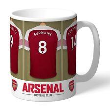 Personalised ARSENAL Football Club FC Dressing Room Mug Gift
