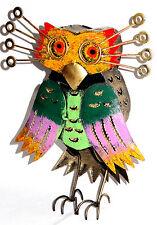 Chouette hibou Fer Forgé Déco Métal artisanal Collection statue oiseau