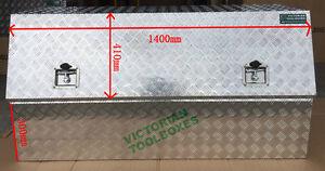 140x50x70 cm Heavy duty Aluminium Toolbox Half Open door Truck Ute  Tool box