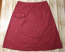 Sundance Catalog Womens Size 10 Rust Red Maroon A Line Pocket Skirt H14 Women's Clothing Clothing, Shoes & Accessories