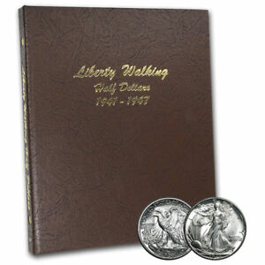 1941-47 Walking Liberty Half Dollar Set (BU)