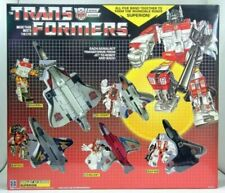 TRANSFORMERS SUPERION G1 AUTOBOTS COMBINER NEW SEALED + WORLD GUIDE BOOK