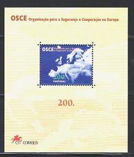 SELLOS  PORTUGAL 1996 HB 123 COOPERACION EUROPEA 1v.