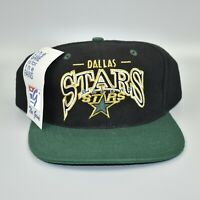 Dallas Stars NHL Vintage 90's The Game Adjustable Snapback Cap Hat - NWT