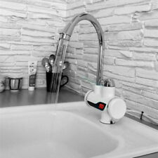 Rapid Electric Heating Faucets Kitchen Bathroom LCD Temperature Display tap
