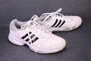 SB1120 Adidas Performance Ambition 8 Sneaker Sportschuhe Gr. 42 weiß schwarz