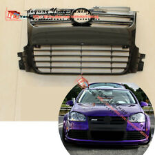 Black Euro R Style Front Bumper Grille Grille Vent fit for 06-09 MK5 VW Golf R32