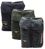 Zaino Backpack AVIAZIONE NAVALE della MARINA MILITARE Unisex 28X38X11,5 CM Grigi