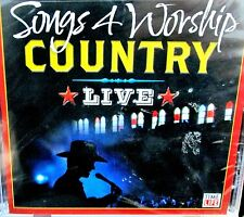 Songs 4 Worship COUNTRY Live, NEW! CD, Alison Krauss,Alabama,Ricky Skaggs,