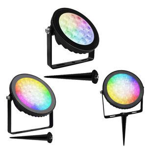 GAP GL9-ECHO GL15-ECHO GL25-ECHO LED Floodlight or Spike Light RGBW/CCT 9,15,25W