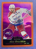 2015-16 O-Pee-Chee Platinum Retro Orange Rainbow #R23 Alex Ovechkin 7/49 Caps SP