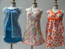barbie doll clothes dresses Mattel mint original 3 mini dresses 4
