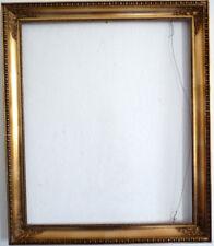 Goldener Empire-Stuck-Rahmen, Falzmaß 64 x 52,5 cm, 1. Hälfte 20. Jh.  sehr schö
