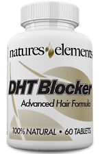 DHT Blocker with He Shou Wu for Hair Loss & Gray Hair - Vegetarian Safe