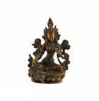 Estatua Tibetano Tara Deity Budista 9CM 250g Peterandclo 7061