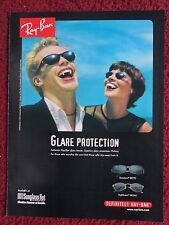 1998 Print Ad RAY BAN Sunglasses Glare Protection VAMPIRES out during the day