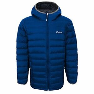 Outerstuff NFL Youth Indianapolis Colts Solid Packaway Puffer Jacket
