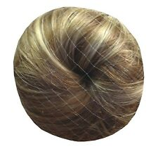 10 x Hair Bun Net with 10 pins- tough strong plastic net for ballet, gymnasti...
