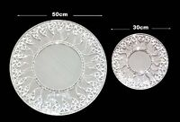 Round mosaic clear sun design wall mirror 50cm or 30cm-hand made in Bali-NEW